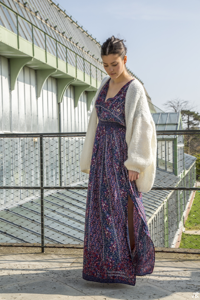 robe longue summer outfit blog mode fashion blogger 11