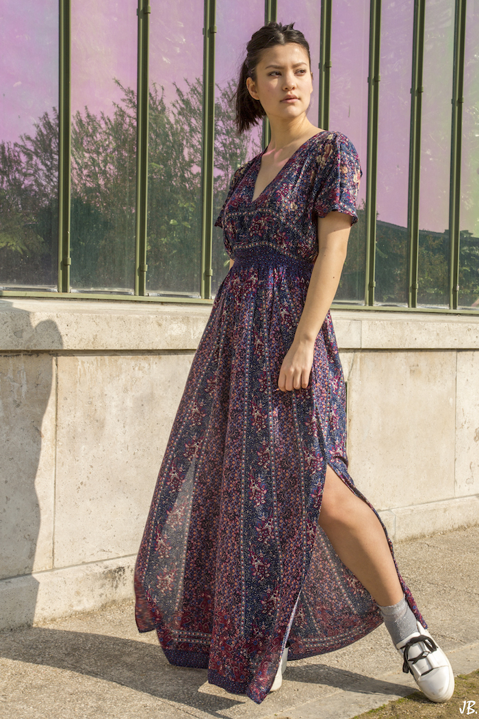 robe longue summer outfit blog mode fashion blogger 14