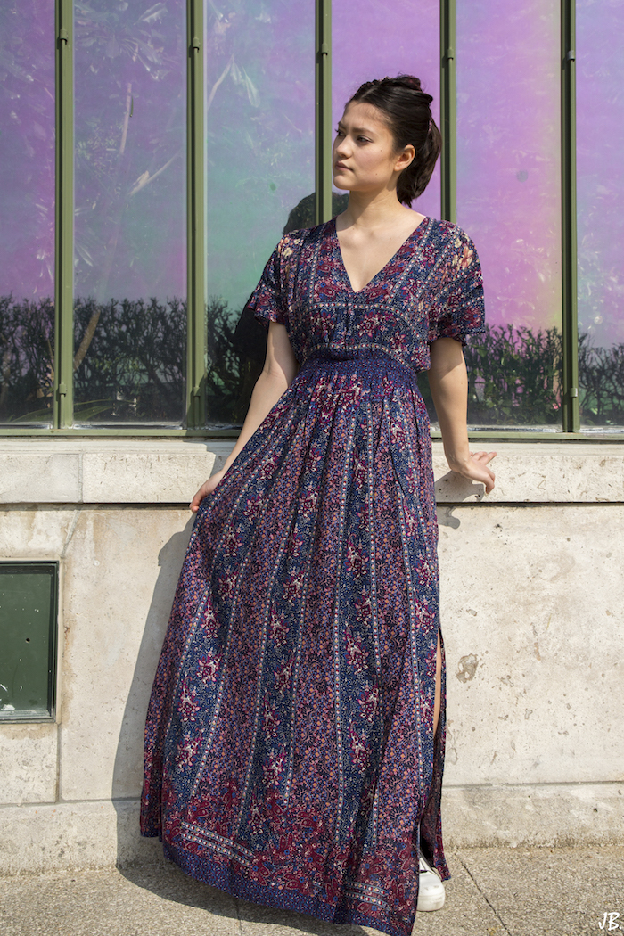 robe longue summer outfit blog mode fashion blogger 15