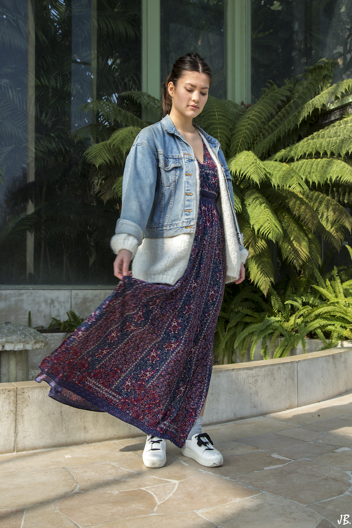 robe longue summer outfit blog mode fashion blogger 4