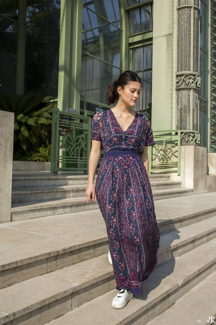 robe longue summer outfit blog mode fashion blogger