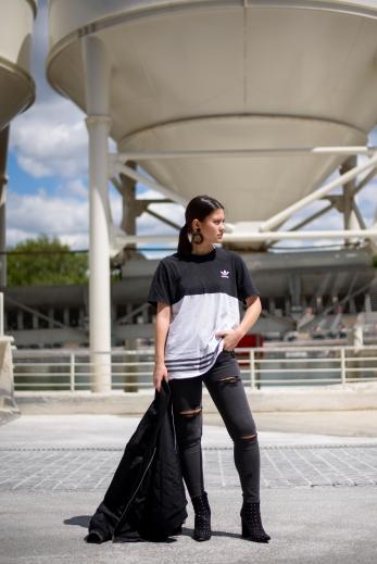 adidas missguided tenue fashion blogger blog mode14