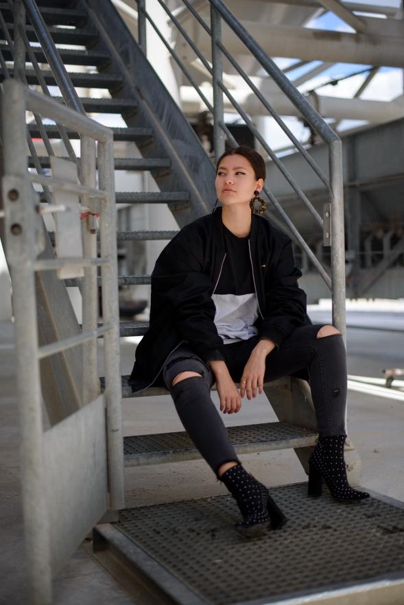 adidas missguided tenue fashion blogger blog mode21
